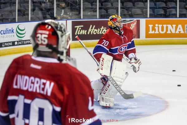 Charlie Lindgren, Michael McNiven (Photo by Amy Johnson | Rocket Sports Media)